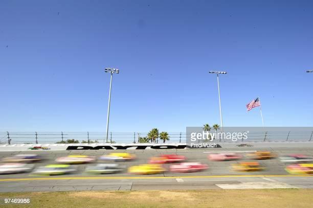 Daytona 500: Scenic blur view during race at Daytona International Speedway. Daytona, FL 2/14/2010 CREDIT: Fred Vuich