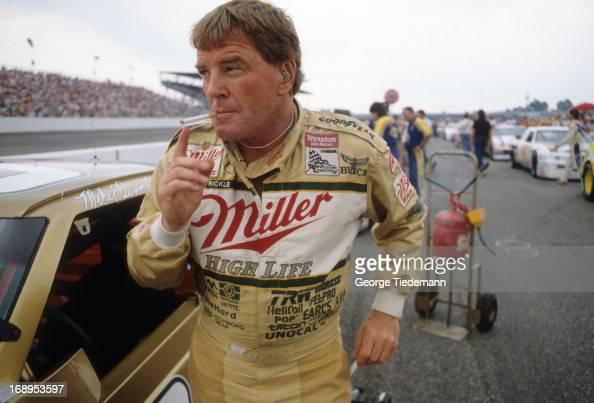 Dick Trickle Smoking In Race Car