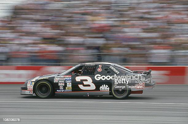 NASCAR Hooters 500 Dale Earnhardt Sr in action during race at Atlanta Motor Speedway Earnhardt clinches his sixth Winston Cup championshipHampton GA...