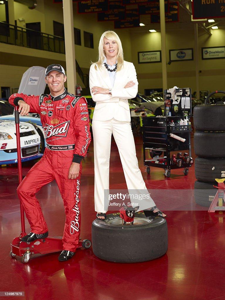Kevin Harvick, NASCAR Driver : ニュース写真