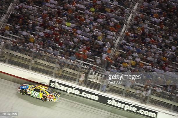 NASCAR Sharpie 500 Kyle Busch in action during race at Bristol Motor Speedway Bristol TN 8/23/2008 CREDIT Fred Vuich