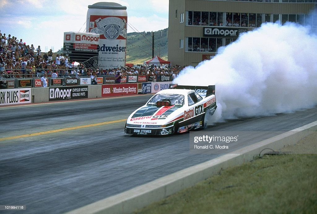 John Force In Action During Drag Racing Funny Car Championship At News Photo Getty Images
