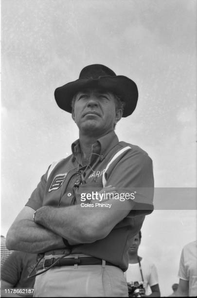 Portrait of Carroll Shelby posing during photo shoot. California 4/1/1965 CREDIT: Coles Phinizy