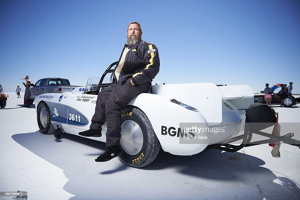 Portrait Of Land Speed Racer Konrad Strawmyre Of Shippensburg Pa News Photo Getty Images