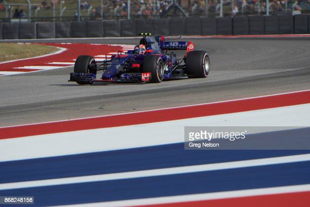 United States Grand Prix Daniil Kvyat during practice session at Circuit Of The Americas Austin TX CREDIT Greg Nelson