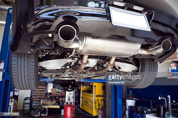 auto repair - low section stock pictures, royalty-free photos & images