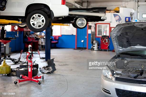 auto repair shop - garage stock pictures, royalty-free photos & images