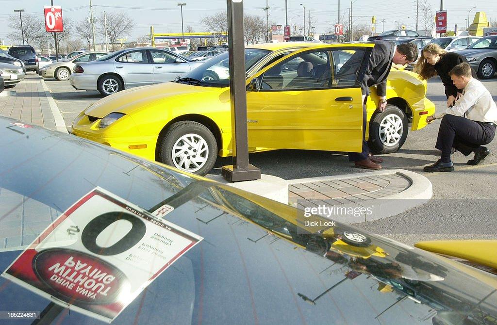 Auto Sales Sales12/03/01Popham Pontiac, Buick, GMC' General Sales ...