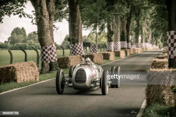 自動連合グランド グランプリ rennwagen タイプ c v16 ビンテージ レース車 - アウディ ストックフォトと画像