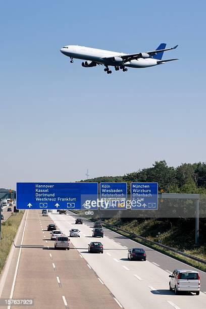 Autobahn A5, Frankfurter Kreuz - Germany