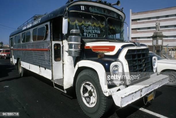 Autobus au Mexique en 1986