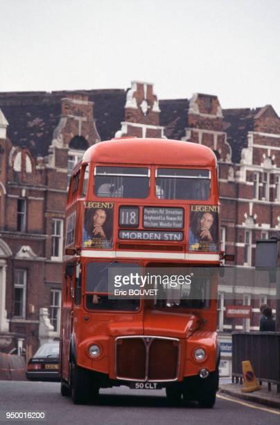 Autobus à Londres le 10 juin 1984 RoyaumeUni