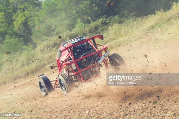 autocross action - rally car racing stock pictures, royalty-free photos & images