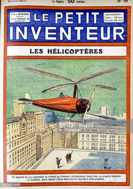 Autogiro designed by Spanish engineer Juan de la Cierva 18961936 From Le Petit Inventeur Paris 1928