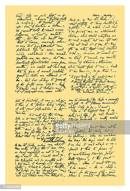 Letter from Elizabeth Barrett Browning to the critic Henry F Chorley, sending an additional stanza of her poem 'A Tale of Villa Franca' . She gives...