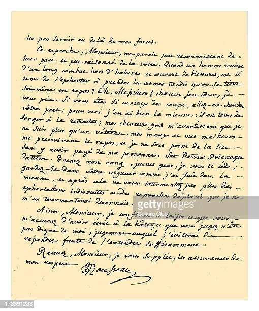 Letter from JeanJacques Rousseau without an addressee stating his reasons for not writing further in support of the French Protestants and referring...