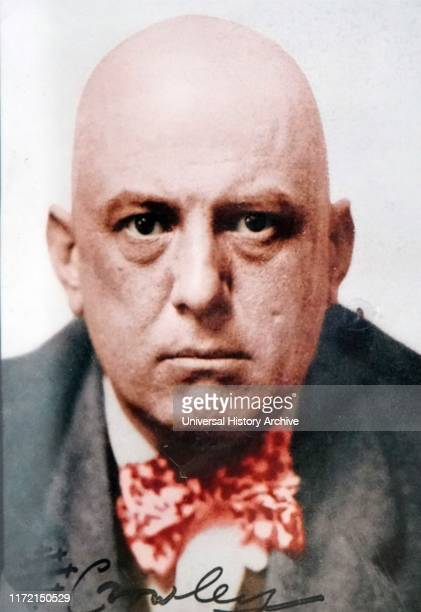 Autographed photograph of Aleister Crowley Aleister Crowley an English occultist ceremonial magician poet painter novelist and mountaineer