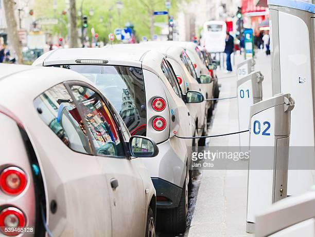Autolib Autos in Paris