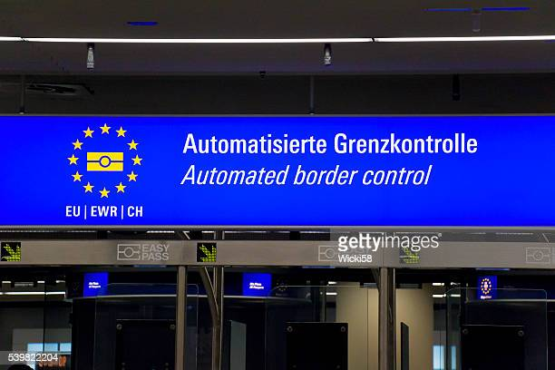 Automated Border Control Sign
