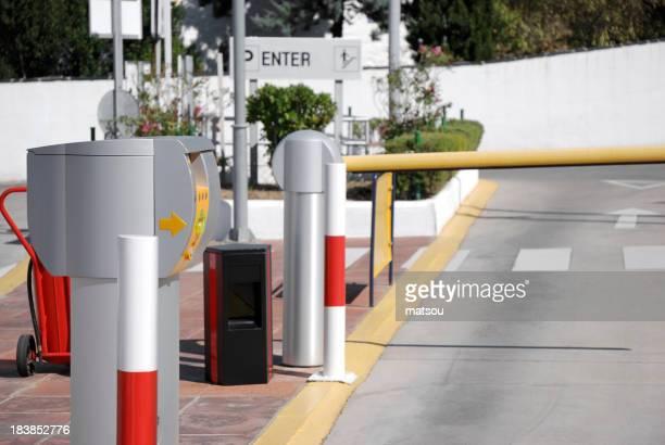 Automated gates.