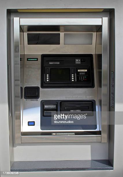 ATM - Automated Teller Machine at the Bank