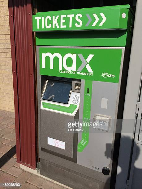 Automated ticket terminal for Max a clean natural gas powered public transportation system