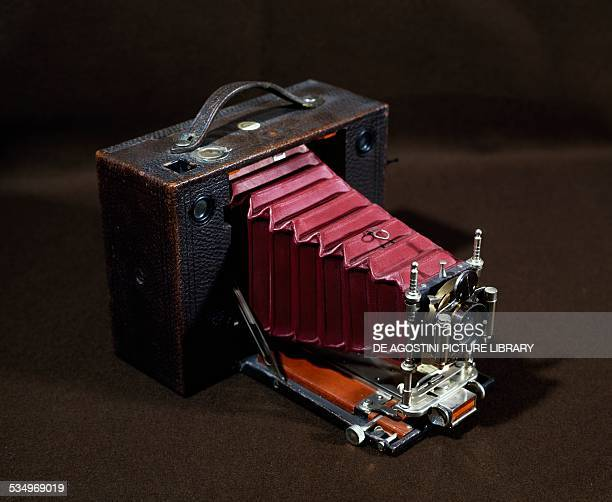Automatic Eastman Kodak camera 1100 speed 1128 diaphragm United States of America 19th century