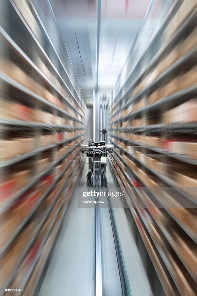 Automatische storehouse : Stock-Foto