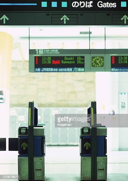 Automatic ticket gates