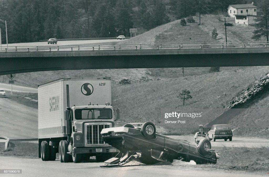 Automobile Accidents - Colorado Auto Damaged But No One