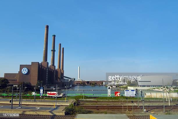 Automobile city: main plant of Volkswagen
