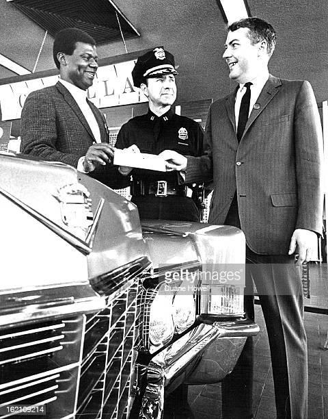 OCT 24 1968 OCT 27 1968 Automobile Dealer Turns Sponsor Detective Chris Wilkerson left member of the Denver Police Department's com¡munity relations...