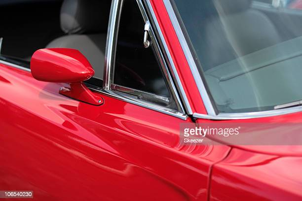 Automobile - Detail of 1960s hot rod