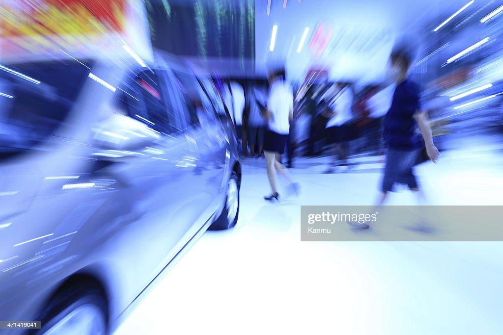 Automobile Exhibition : Stock-Foto
