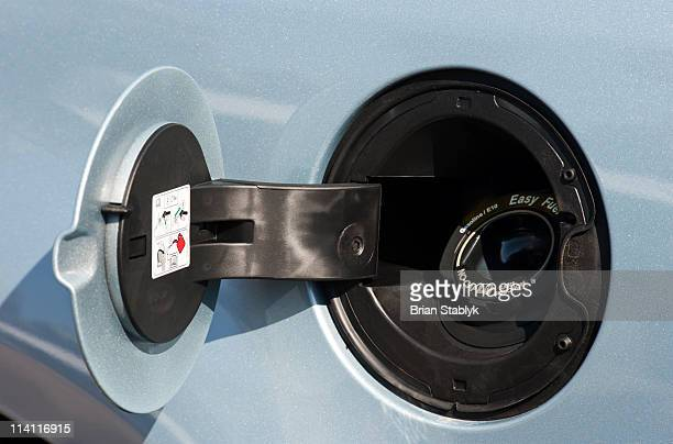 automobile  fuel tank - gas tank stock photos and pictures