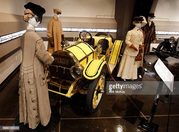 Streamlined fashion and autobiles reached back to a the early 1900's to the height of Art Decoear to exmine the automobile's influence on a fashion...