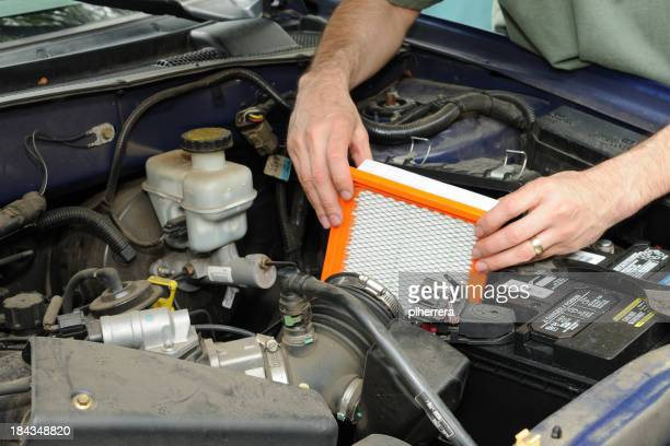 Automotive Air Filter Replacement
