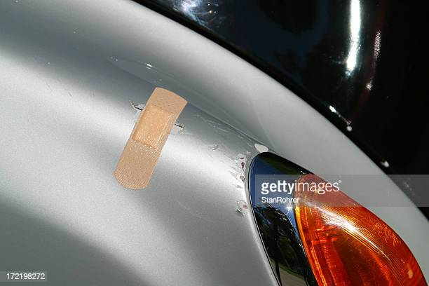 Automotive Band-Hilfe, Parkplatz, zerkratzt Farbe