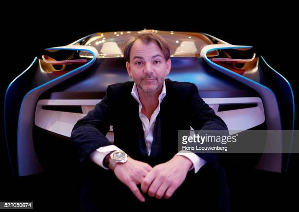 BMW automotive designer Adrian van Hooydonk