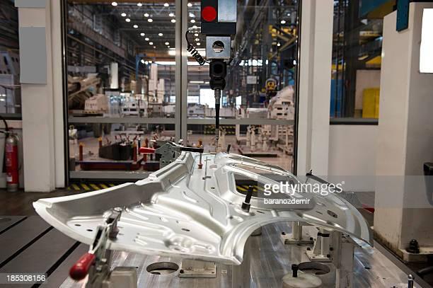 indústria automóvel e máquina cnc - parte de imagens e fotografias de stock