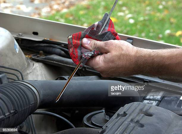 automotive - oil check #2 - oil change stock pictures, royalty-free photos & images