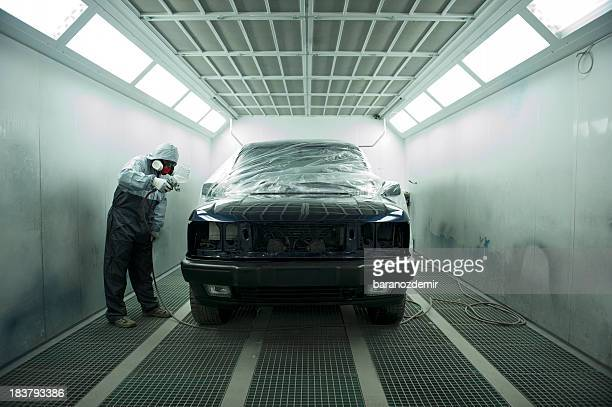 Automotive Spray Painting