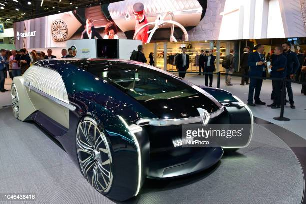 Autonomous and Electric car Renault EZUltimo during Mondial Paris Motor Show 2018 in Paris France on 4 October 20178 The Mondial Paris Motor Show...