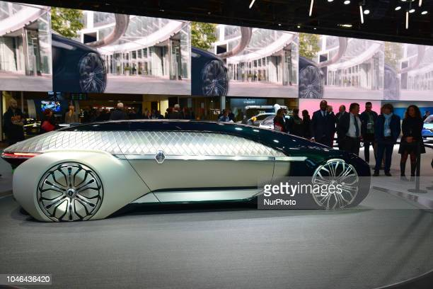 Autonomous and Electric Renault EZUltimo during Mondial Paris Motor Show 2018 in Paris France on 4 October 20178 The Mondial Paris Motor Show Paris...