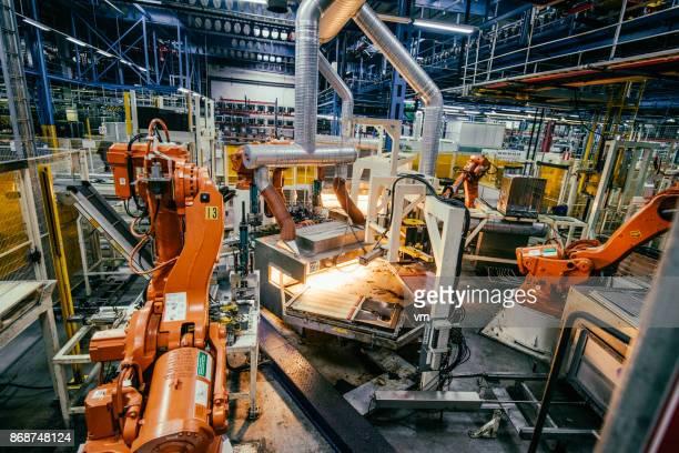 Línea de producción autónoma