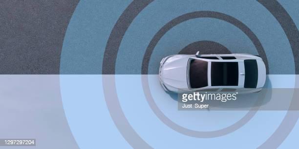 autonomous self driving vehicle - autonomous technology stock pictures, royalty-free photos & images