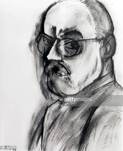 Autoportrait de Henri Matisse.