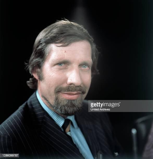 Autor DR. MANFRED KOCH, Sendung im ZDF, Juli 1974.