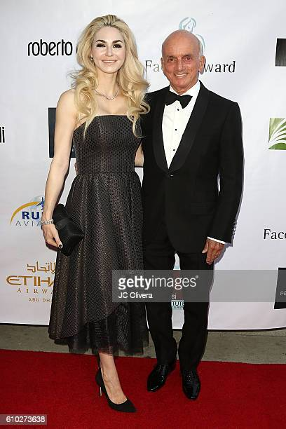 Autor Elizabeth TenHouten and Dennis Tito attend The 7th Annual Face Forward Gala at Vibiana on September 24 2016 in Los Angeles California