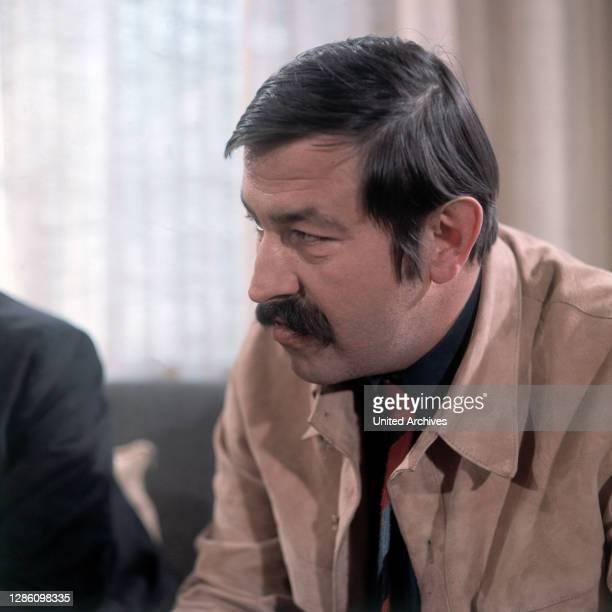 Autor GÜNTER GRASS, Aufzeichnung im ZDF, April 1970.